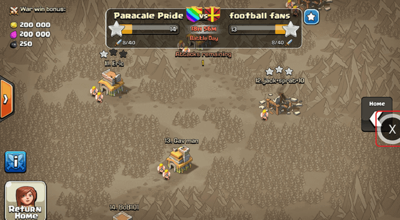 clash of clans sandbox